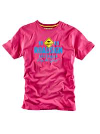 Roadsign Shirt in Pink