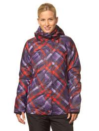 """Icepeak Ski-/ Snowboardjacke """"Janina"""" in Lila/ Rot"""