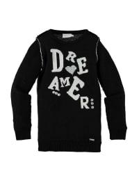 Geox Pullover in schwarz/ weiß