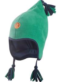"""Finkid Mütze """"Pipo"""" in grün/ dunkelblau"""