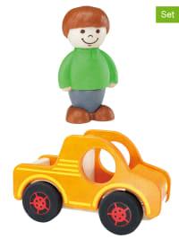 "Hape Toys 3tlg. Set: ""Unser Pick up"" - ab 18 Monaten"