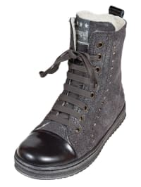Romagnoli Leder-Boots in grau