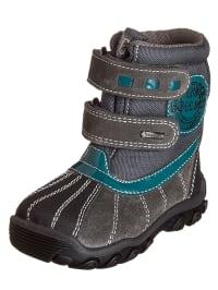 Primigi Boots in Taupe/ Grau/ Petrol