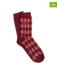 Tom Tailor 4er-Set: Socken in Rot