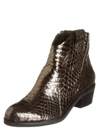 "More & More Leder-Boots ""Franci"" in Gold"