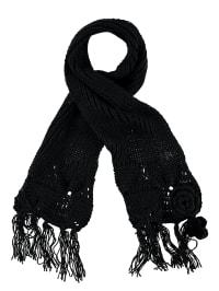 Geox Schal in schwarz - (B)20 x (L)140 cm