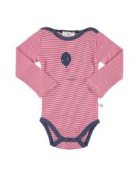 Bellybutton Body in Pink/ Weiß/ Blau