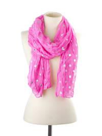 Codello Viskose-Schal in Pink - (B)70 x (L)190 cm