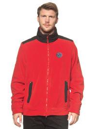 First B Fleece-Jacke in Rot