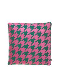 """Wood & Scherer Kissen """"La Fleur"""" in Pink/ Grün"""