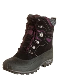 "Kamik Winterstiefel ""Haven"" in Schwarz/ Lila"