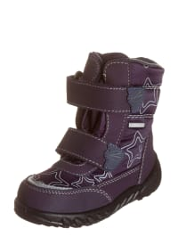 Richter Shoes Winterboots in Lila/ Grau
