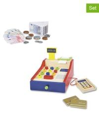 Pinolino Set: Spielkasse mit Spielgeld - ab 3 Jahren