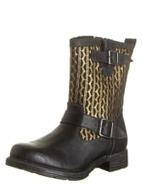 Tamaris Boots in Schwarz/ Gold
