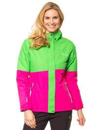 "Dare 2b Ski-/ Snowboardjacke ""Prowess"" in Grün/ Pink"