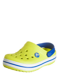 "Crocs Clogs ""Crocband Kids"" in Gelb/ Blau"