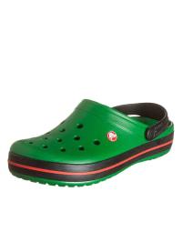 "Crocs Clogs ""Crocband"" in Grün/ Schwarz"