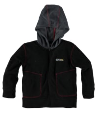 "Regatta Fleecejacke ""Bobby"" in Schwarz/ Anthrazit"