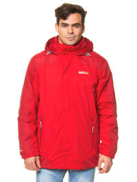 "Regatta 3-in-1 Funktionsjacke ""Baxley"" in Rot"