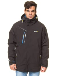 "Regatta 3-in-1 Funktionsjacke ""Everson"" in Schwarz"