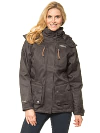 "Regatta 3-in-1 Funktionsjacke ""Kyla"" in Anthrazit"