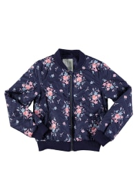 Name it Steppjacke in Dunkelblau/ Rosa