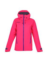 "Ziener Ski-/ Snowboardjacke ""Swinde"" in Neon-Pink"