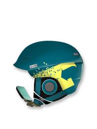 "Uvex Ski-/ Snowboardhelm ""Uvex hlmt 7 pro"" in Petrol/ Gelb"