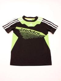 Adidas Shirt in Schwarz/ Hellgrün/ Weiß