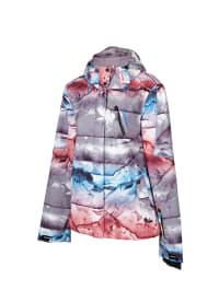 """Chiemsee Ski-/ Snowboardjacke """"Hedda"""" in Grau/ Blau/ Rot"""