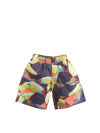 "Wild Badeshorts ""Surfy"" in Dunkelblau/ Orange/ Bunt"