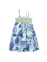 "Desigual Kleid ""Castineir"" in Weiß/ Blau/ Gelb"