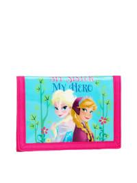 Disney Geldbeutel in Türkis/ Pink - (B)12,50 x (H)9,50 cm