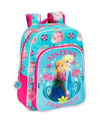 Disney Rucksack in Türkis/ Pink - (B)26 x (H)34 x (T)11 cm