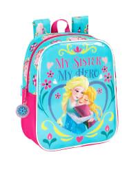 Disney Rucksack in Türkis/ Pink - (B)22 x (H)27 x (T)10 cm