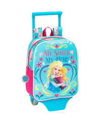 Disney Trolley in Türkis/ Pink - (B)22 x (H)27 x (T)10 cm