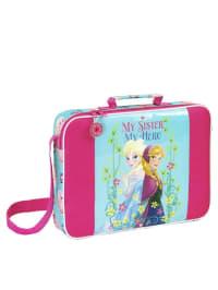 Disney Schultasche in Türkis/ Pink - (B)38 x (H)28 x (T)6 cm