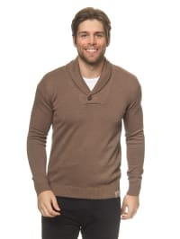 Tom Tailor Pullover in Braun