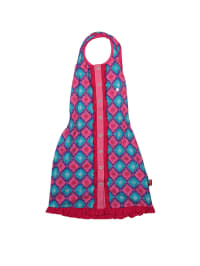 Dutch Bakery Kleid in Pink/ Hellblau/ Fuchsia
