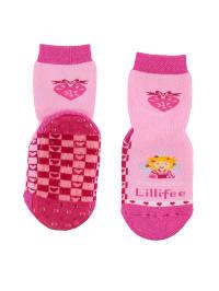 "Ewers Anti-Rutsch-Socken ""Lillifee"" in Rosa/ Pink"