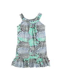 Paglie Kleid in Weiß/ Blau/ Grün
