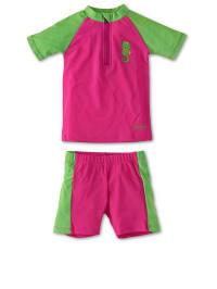 Sterntaler Schwimmanzug in Pink/ Grün