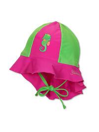 Sterntaler Badehut in Pink/ Grün