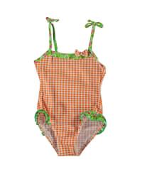 Needs Badeanzug in Orange/ Weiß