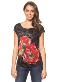 "Desigual Shirt ""Maria"" in Schwarz/ Rot"