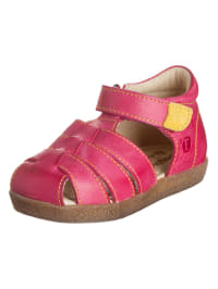 Naturino Leder-Sandalen in Pink