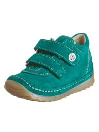 Naturino Leder-Sneakers in Türkis