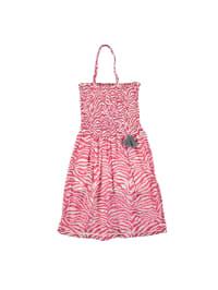 Lofff Kleid in Pink/ Weiß