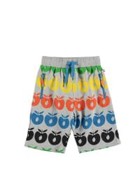 Småfolk Sweat-Shorts in Grau/ Bunt