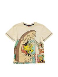 Leomil Shirt in Creme/ Bunt